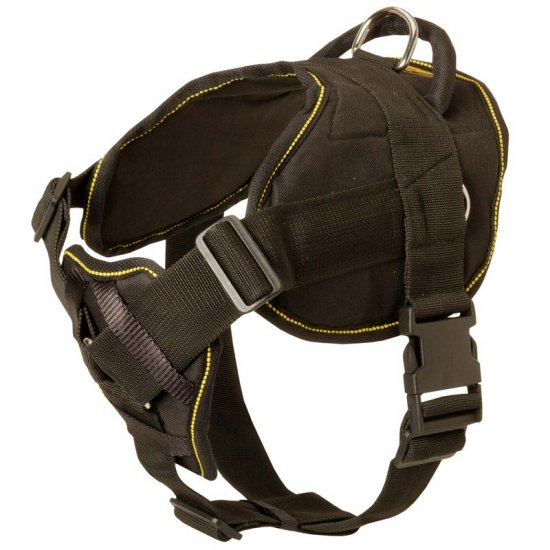 Nylon Collie Harness for Pulling Tracking Training