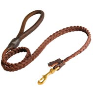 Brand New Design Leather Collie Leash