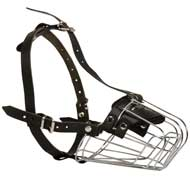 Wire Basket Collie Muzzle for Comfortable Walking and Training