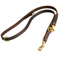 Multifunctional Leather Collie Leash