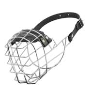 Wire Cage Collie Muzzle With One Strap