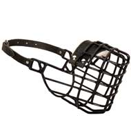 Frost-Resistant Wire Cage Collie Muzzle with One Adjustable Strap