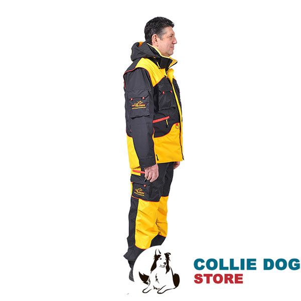 Dog Training Bite Suit with a Few Pockets