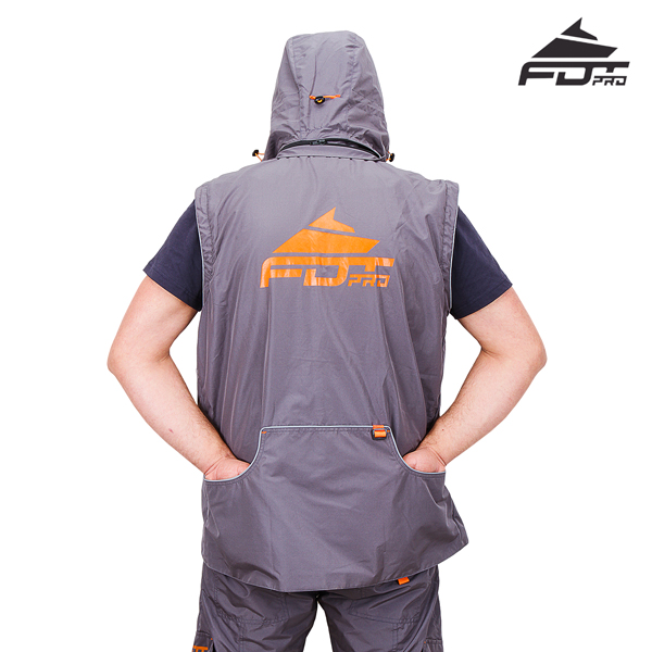 Top Rate Dog Trainer Suit Grey Color from FDT Pro Wear