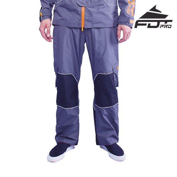 FDT Pro Pants of Grey Color for All Weather Use