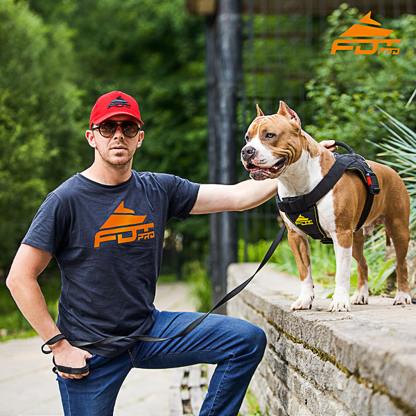 Men T-shirt of Finest Quality Cotton with Logo for Dog Trainers