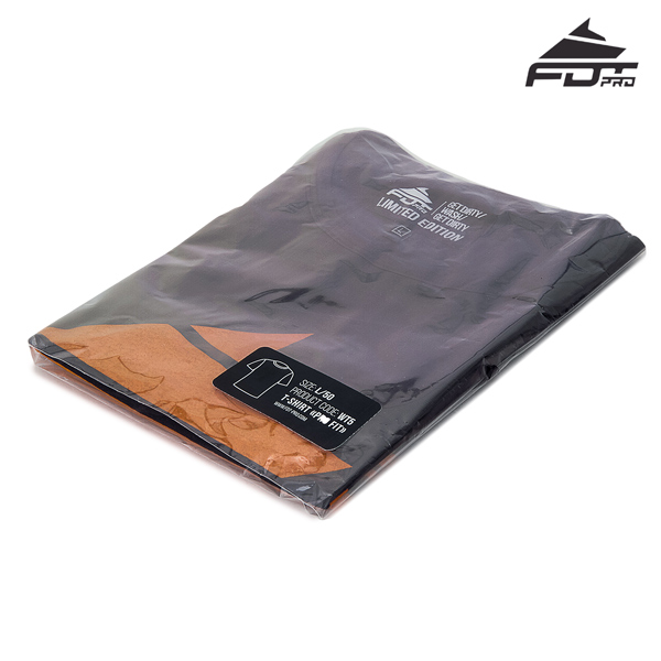 Packed Professional T-shirt Dark Grey Color