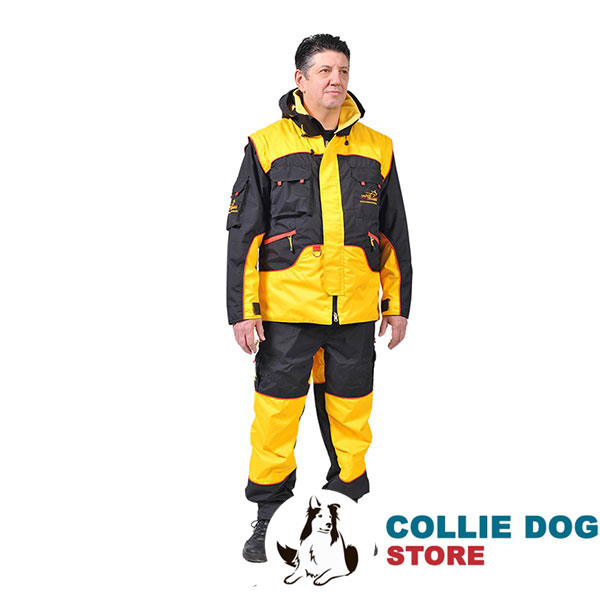 Pro Training Suit of Water Resistant Membrane Material