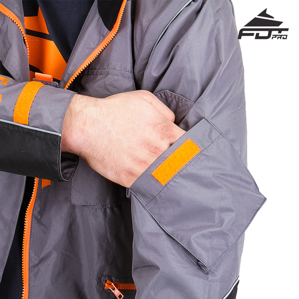 Handy Sleeve Pocket on FDT Pro Design Dog Trainer Jacket
