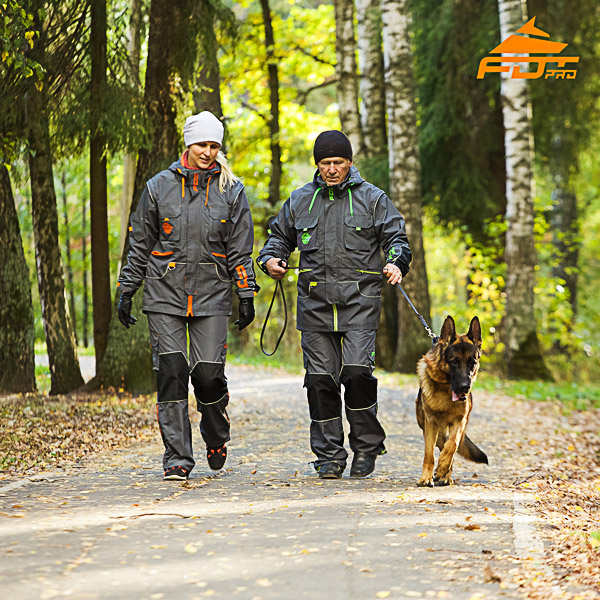 Unisex Dog Tracking Suit for Men and Women for Any Weather