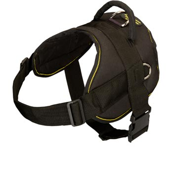 Nylon All Weather Collie Harness for Service Dogs