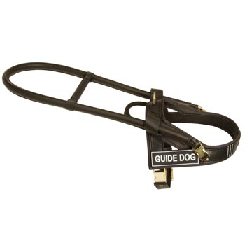 Collie Guide Harness Leather for Dog Assistance