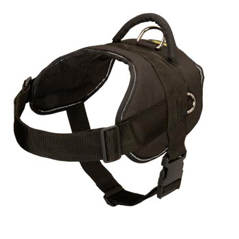 Collie Harness Nylon Multifunctional with Control Handle