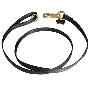 Training Collie Leash Nylon Equipped with Strong Snap Hook
