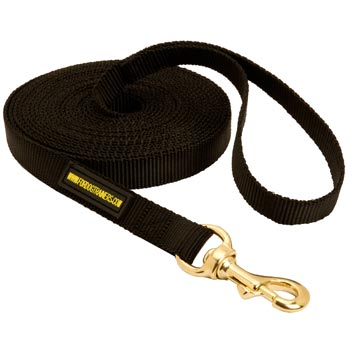 Tracking Extra Long Nylon Collie Leash